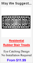 Residential Rubber Stair Treads
