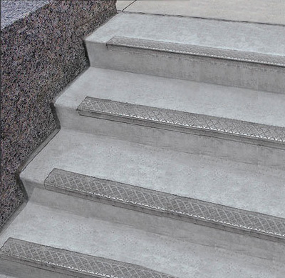 ... Cast Aluminum Stair Nosings