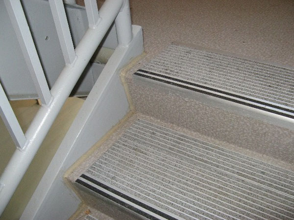 Grit Strip Metal Stair Treads Grit Strip Metal Stair Treads ...