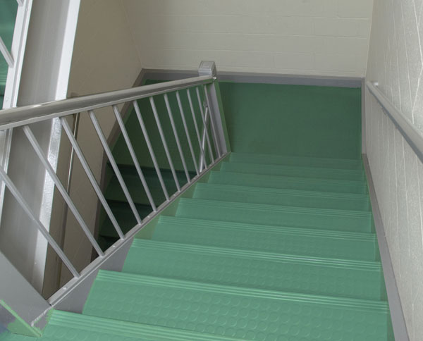 Mannington Commercial Rubber Stair Treads Piece Tread Riser Vinyl Nosing  Home Depot Roppe Installation