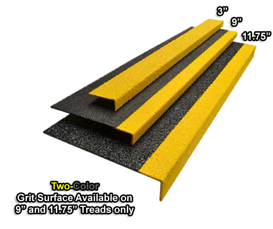 Grit Surface Fiberglass Stair Treads Are Fiberglass Step Covers By American Stair Treads