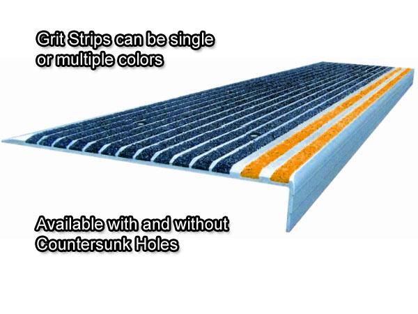 Grit Strip Metal Stair Treads