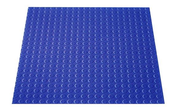 Circular Disk Floor Tiles Low Profile
