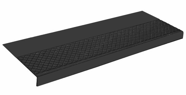 Elegant Outdoor Recycled Rubber Stair Treads